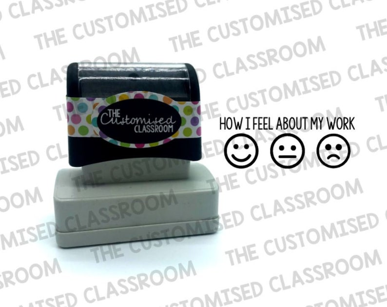 Teacher Stamp - Student Self Reflection Stamp