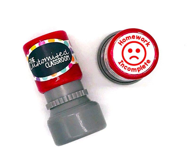 Teacher Stamp Ice Cream Stamp 25x50mm