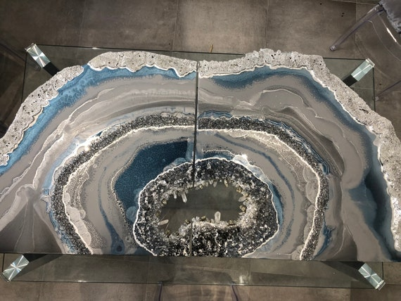 Master painting Geode SOLD