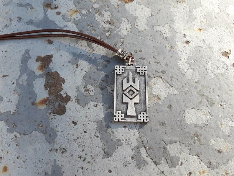Yarilo slavic symbol necklace,Yarilo God of Vegetation,Rudjevid,Gerovit,Jarevid.son of Perun,Protector of the Weak pendant.Slavic god of war