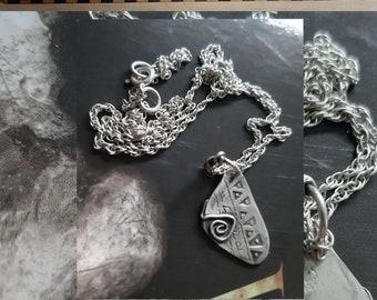Silver Hoard Pendant