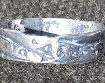 Silver Hoard on a Ring