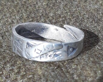 Silver Hoard on a Ring Too