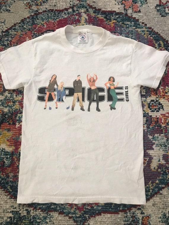 Vintage Spice Girls 1996 T Shirt Size XS