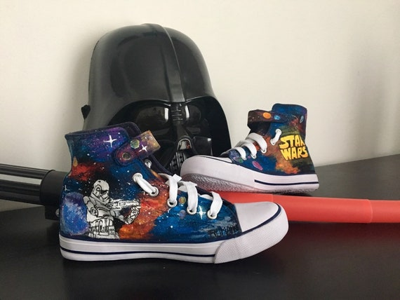 Converse customized star wars