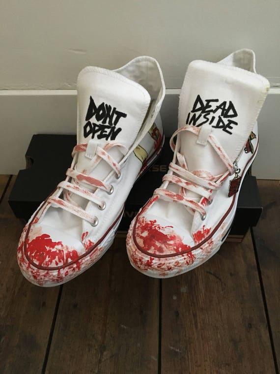 converse the walking dead