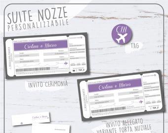 Participation in Travel Vouchers, printable, customizable, complete set