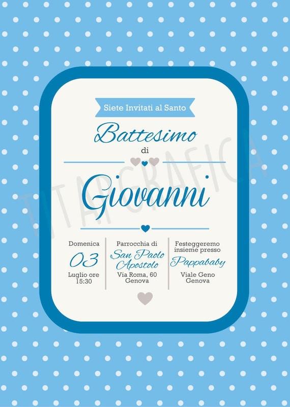digital invitation for baby baptism digital sending invitation etsy