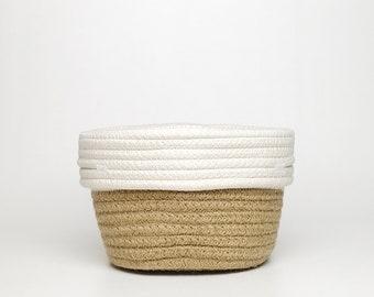 Woven Jute Planter Basket