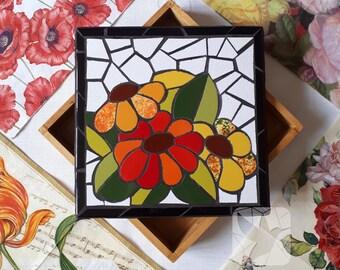 Flower Mosaic Box