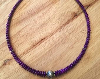 Exquisite Sugilite Necklace