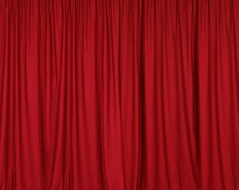 """lovemyfabric 100% Polyester Window Curtain/Stage Backdrop Curtain/Photography Backdrop 58"""" Inch X 108"""" Inch"""