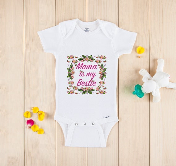 My Crib /& My Momma Baby Onesie Shirt Mom Mommy Mother Shower Gift Newborn Gerber