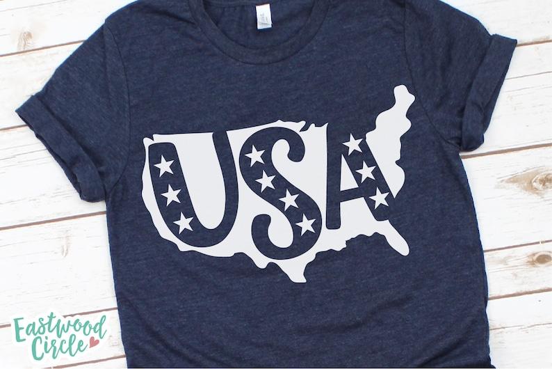 Usa Svg 4th Of July Svg America Svg Patriotic Svg Fourth Etsy