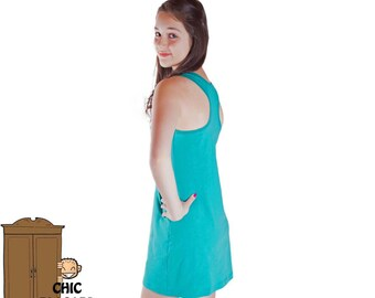 Tank Dress for ladies or teenagers, perfect everyday, summer dress, sun dress, choose your color
