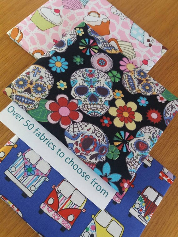 Disabled blue badge holders CANDY SKULL