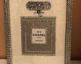 Chanel perfume picture frame