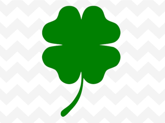 Shamrock Four leaf Clover Lucky Irish St Patrick Ireland Word PICK stickers