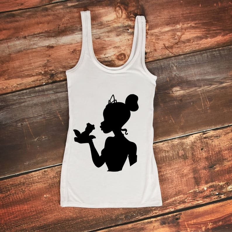 Tiana Svg Disney Svg Tiana Disney Svg Tiana Silhouette Etsy