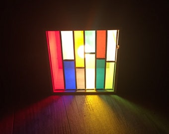 Lampe Vitrail Etsy