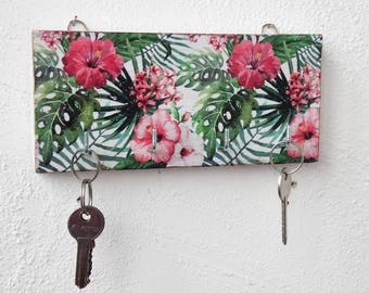 Green key holder for wall key hook rack key rack green key hook entryway key holder key organizer key storage wall key holder