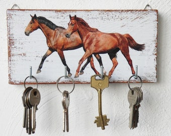 Horse Key Holder Etsy