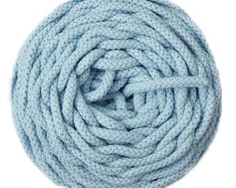 Heavenly blue 100% cotton natural air cotton