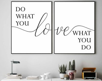 Love Motivational Inspirational Positive Thoughts Quote Poster Print Wall 73