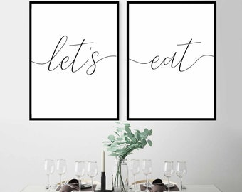 graphic about Etsy Printable Wall Art called Kitchen area wall artwork Etsy