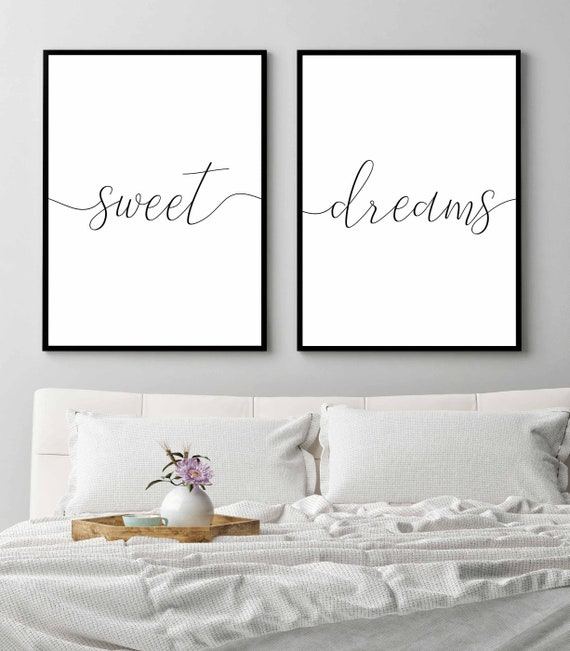 Sweet dreams pillowcases   Etsy