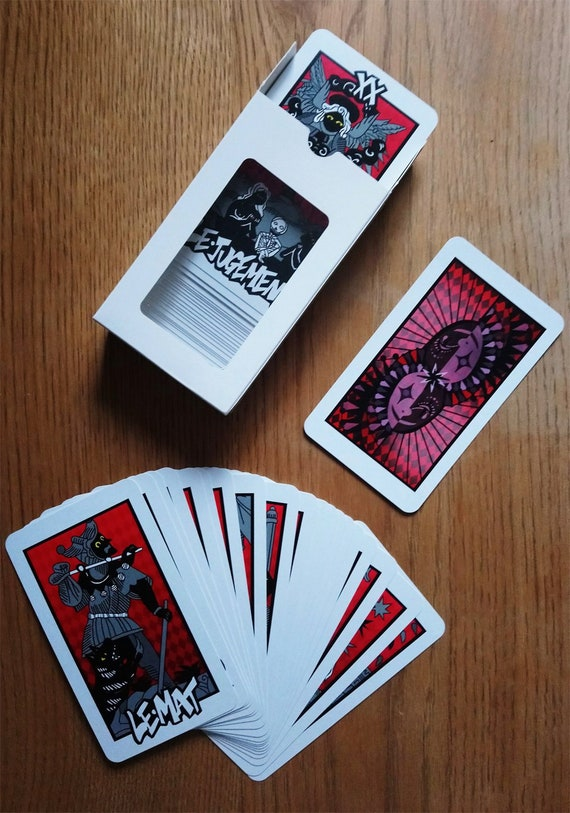 Full Persona 5 Tarot Cards Set All 78 Free Shipping Worldwide