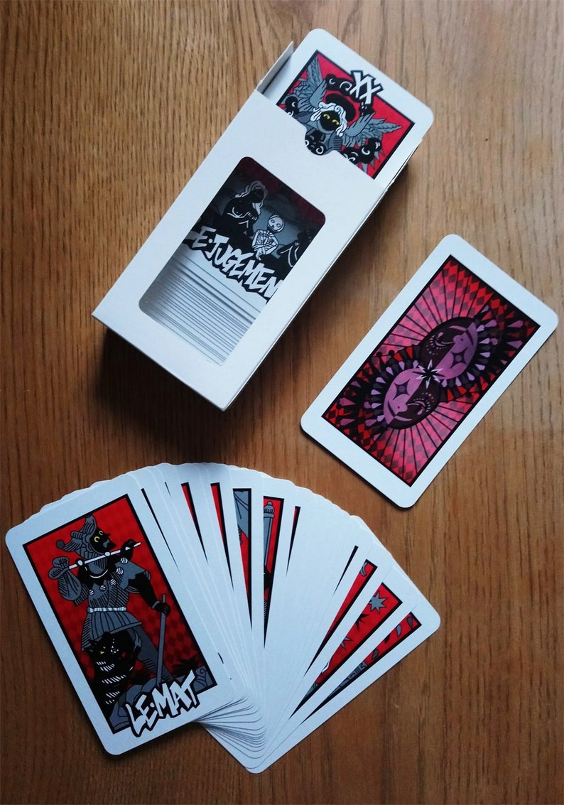Full Persona 5 Tarot cards set, All 78  FREE SHIPPING WORLDWIDE!!!