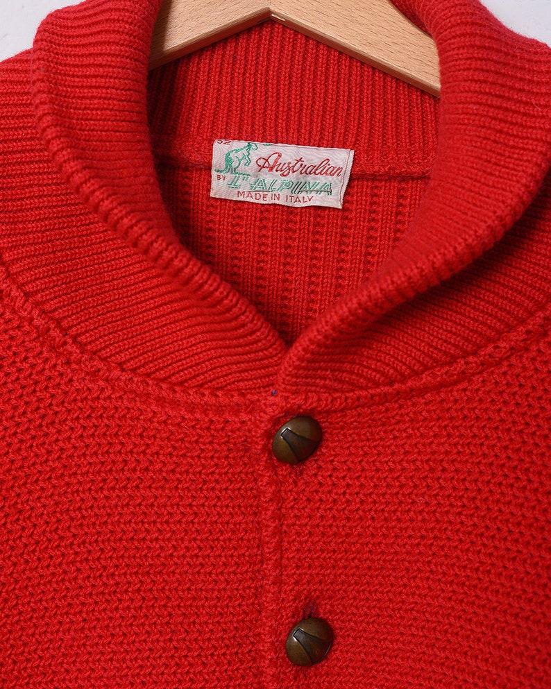 0b287d35252da AUSTRALIAN-The Alpina jumper sweater TG 52 (e219)