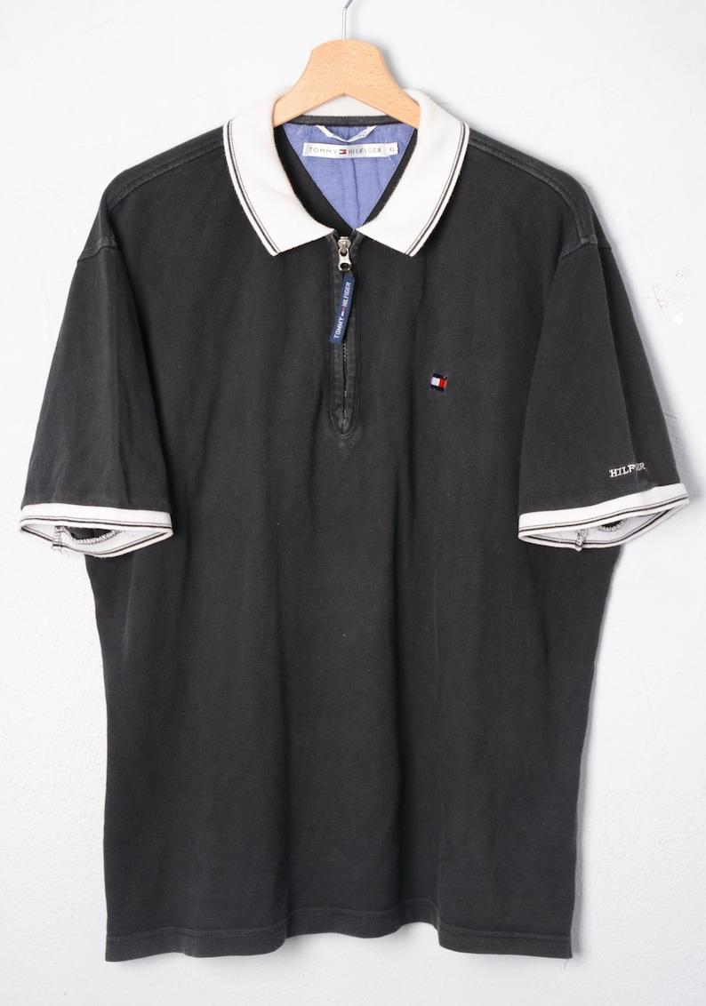 TOMMY Hilfiger Polo shirt TG XL E264