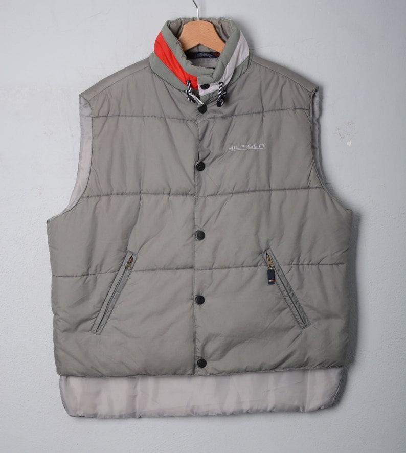 new styles a3516 08ae2 TOMMY HILFIGER-gilet smanicato vest tgv M E179
