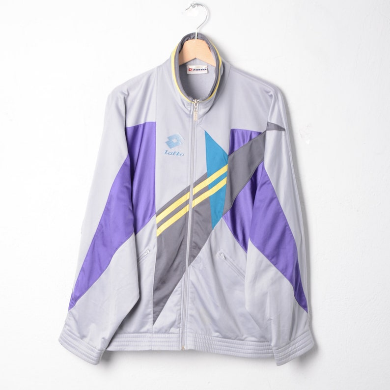 LOT-Tracktop jacket vintage TG L E366