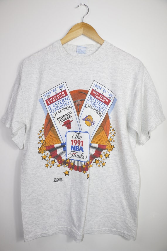 Vintage Chicago bulls NBA 1991 Final t-shirt