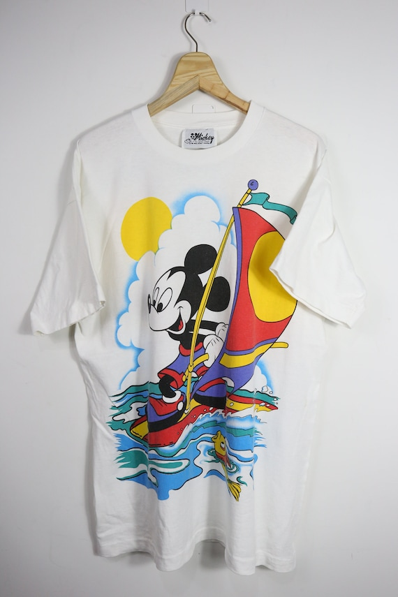 Vintage Mickey Sailing XL