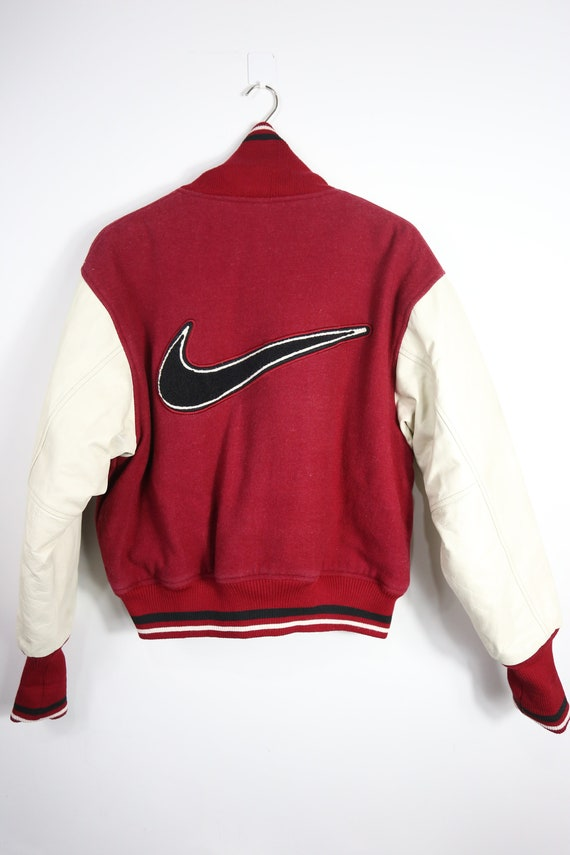 Vintage Nike  varsity jacket leather (M)