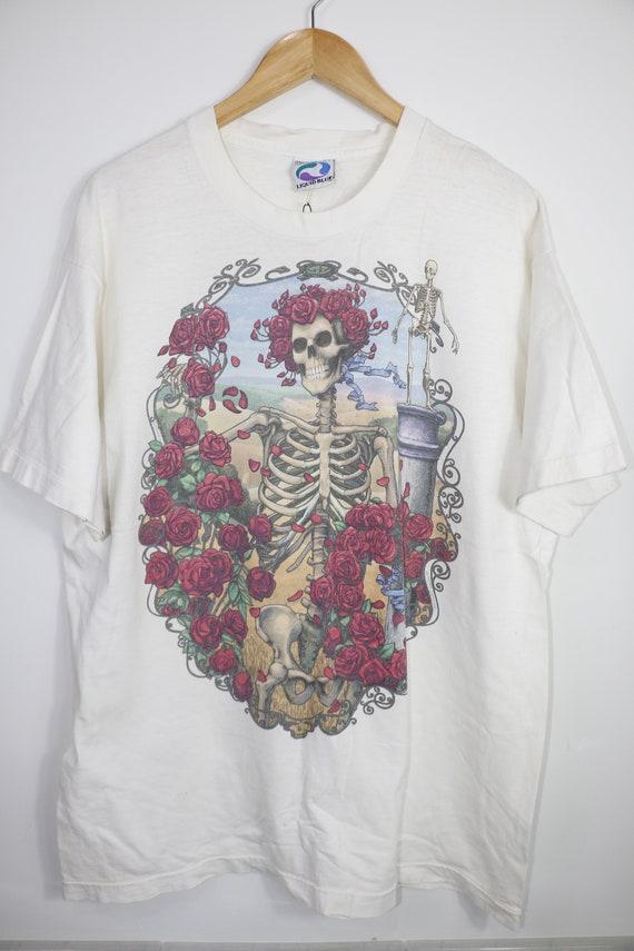Vintage 90s Liquid blue t-shirt