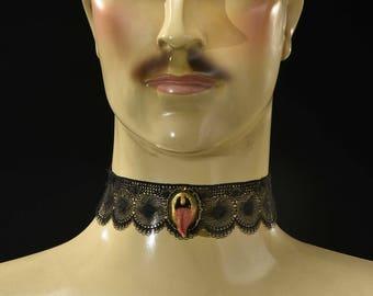 Jewelry - Lace - tongue Choker