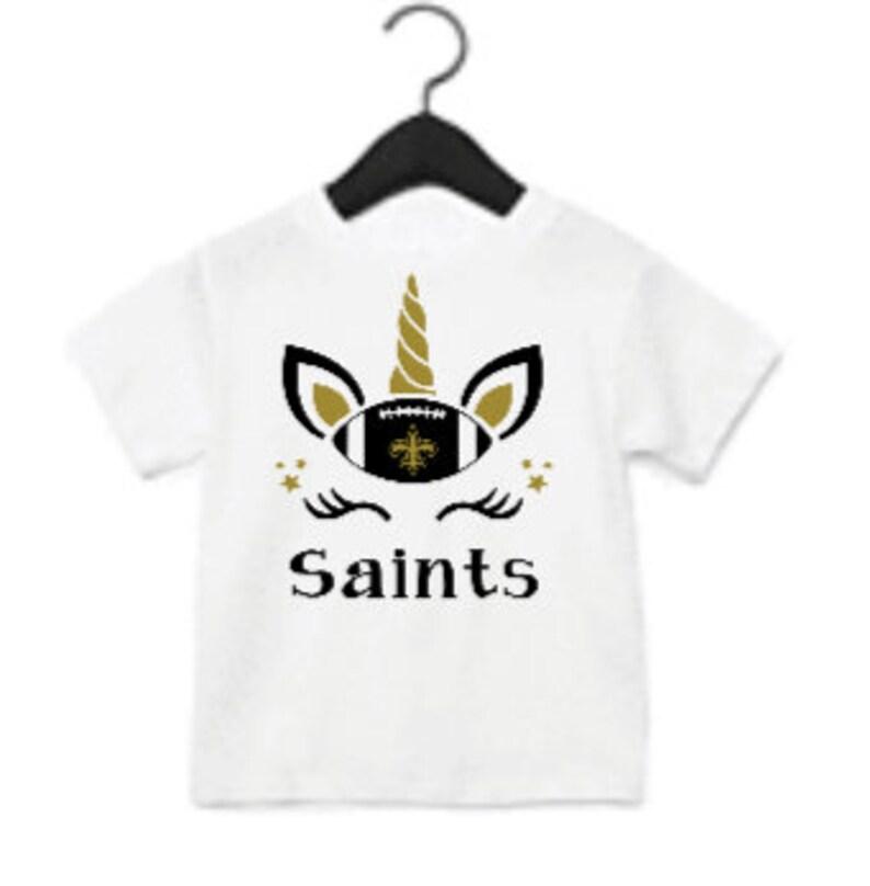saints shirts for girls