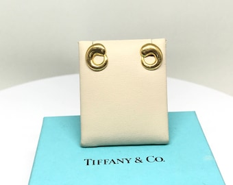 Tiffany & Co. Elsa Peretti Eternal Circle 18k Gold Earrings