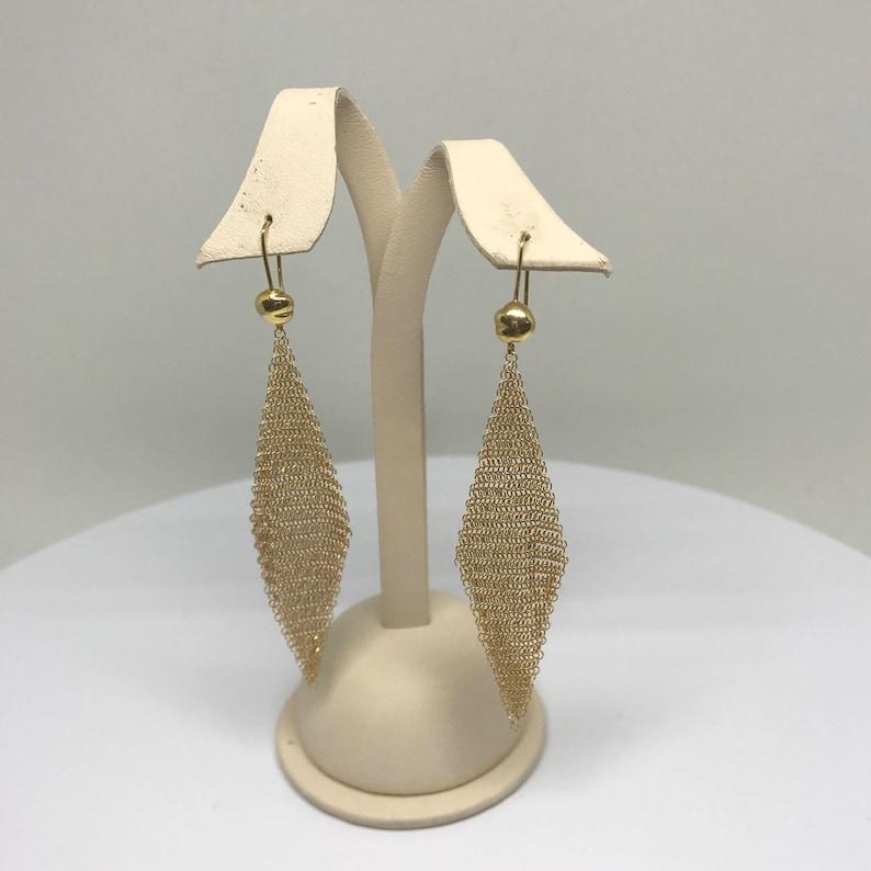 fd18b56fd5d6 Tiffany   Co. Elsa Peretti aretes de oro de malla