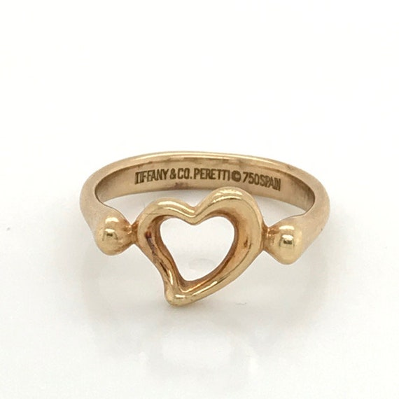 Elsa Peretti Open Heart Ring