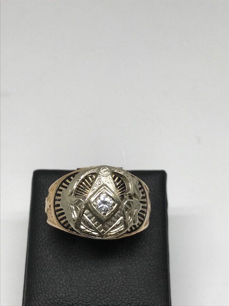Gents Masonic Ring