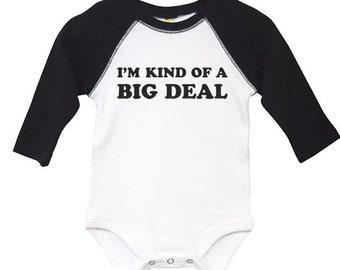 Baby Vest Im Kind of a Big Deal funny