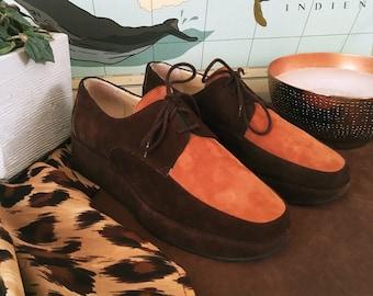 Moda Lorna suede shoes