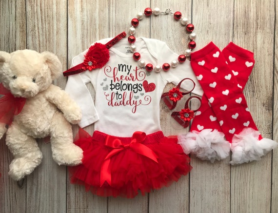 Baby Sweater /& Baby Joggers SR Baby Gift Set My Heart Belongs to Daddy Baby Outfit Baby Clothing Outfit