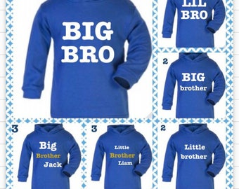Little brother big brother hoodie set this is for both hoodies price shown